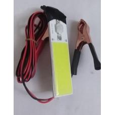Подсветка салона диодная с контактами на аккумулятор