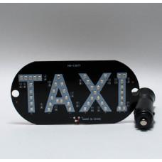Знак ТАКСИ на стекло автомобиля