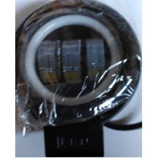 Дневные жодовые огни R 30W-W с белой подсветкой круглые